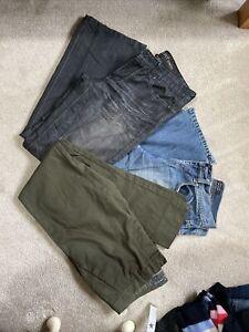 Mens Jeans Trouser 32 Waist 32 Leg Trouser Bundle