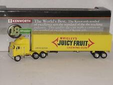 WRIGLEY'S JUICY FRUIT CHEWING GUM KENWORTH 18 WHEELER SEMI TRUCK REPLICA MODEL