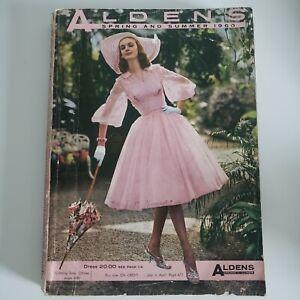 Vintage Aldens department store catalog 1960-1961 Spring and Summer Chicago
