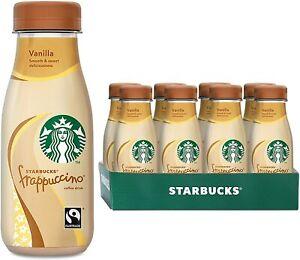 Starbucks Fairtrade Frappuccino Vanilla | 8 x 250ml - NEW