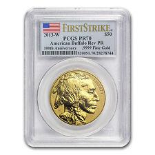 2013-W 1 oz Reverse Proof Gold Buffalo PR-70 PCGS (First Strike) - SKU #77903