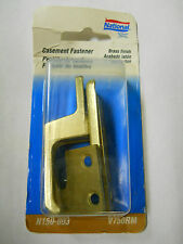 NATIONAL Casement Fastener - N150-003 - Brass Finish - New in Package