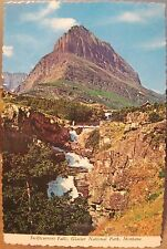 Montana Postcard SWIFTCURRENT FALLS Glacier National Park Inc 4x6 Deckled