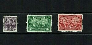 Canada: 1927, Historical Issue, Mint lightly hinged