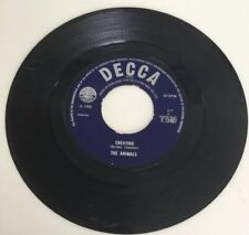 """THE ANIMALS Cheating/Don't Bring Me Down. 1966. 7"""" 45 DECCA Record"""