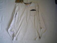 Wi 15/16  Garcia  LANGARMSHIRT, white melee  I53402  gr. 176