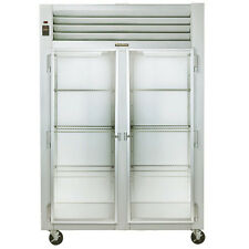 Traulsen G21010 2 Section Glass Door Reach-In Refrigerator - Hinged Left/Right
