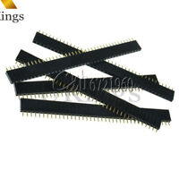 10PCS 40pin Single Row Straight Female 2.54mm Pin Header Strip PBC for Arduino