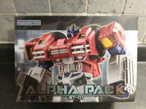 Spark Toys ST-01 Alpha Pack - War Within Optimus Prime MIB USA