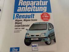 Reparaturanleitung für Renault Megane Scenic Cabrio / Coupe ab 1995