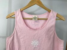 Life Is Good Women's Sunshine Sleeveless Pink Tank Top Size XL