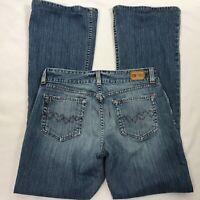BKE Denim Culture Boot Cut STRETCH Blue Jeans Women 30 x 32