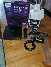 Philips BDP7501 4K Ultra HD Blu-Ray Player w/ Wi-Fi free 4k creed dvd