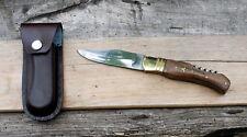Couteau type Laguiole + Etui cuir