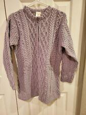 Kilronan Petite Merino Wool Zip Front Long Cardigan Soft Grey A276886 Medium