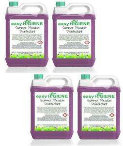 20 Litre SUMMER MEADOW Disinfectant 4x 5L FRAGRANCE Kennel Cleaner Patio Pet Dog