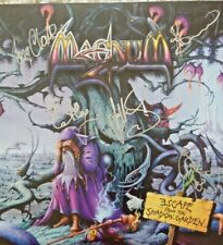 Magnum - Escape From The Shadow Garden  2 LP Blue Marbled Vinyl + CD SIGNED NEW