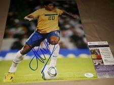 Hulk Brazilian Soccer Stud Signed 11x14 in Person JSA CERTIFIED