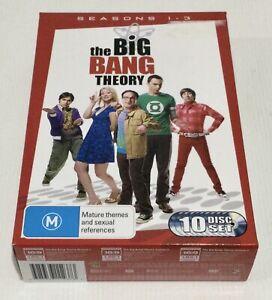 The Big Bang Theory Season 1-3 DVD Box Set First Second Third Season