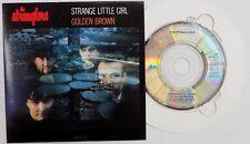 """THE STRANGLERS CD Strange Little Girl / Golden Brown /Heroes 3"""" AUSTRIAN Card PS"""