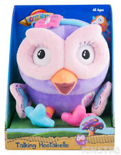 Hootabelle Talking Plush Toy Large 18cm Giggle and Hoot Toy Interactive Plush Ow
