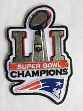 Patriots SUPERBOWL 51 CHAMPIONS Patch/ NFL/ Embroidered Jersey Patch