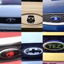 Ford Transit Badge Custom Transformer Front Rear Vinyl Sticker Overlay Autobot