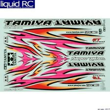 Tamiya 53840 RC Marking Sticker - Tribal Flame Design