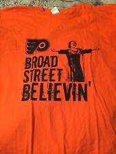 Philadelphia Flyers Broad Street Believing Shirt Rare Kate Smith Nhl Hockey