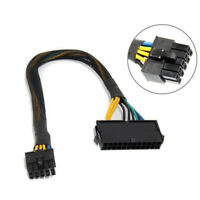 Replace 24Pin Female to 10 Pin Male Adapter Cable for ATX Lenovo Motherboard HOT