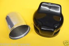 FREE 1st Class P&P Alloy Towball Cover & Socket Cover for 13 Pin or 7 Pin Towing