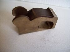 """Reproduction Norris bull nose plane bronze casting 4"""" long 1 1/8"""" wide"""