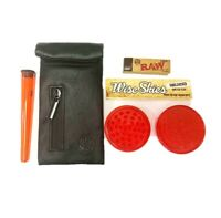 Wise Skies Smell Proof Bag /& Doob Tube Holders Rolling Paper Holder Smelly Proof