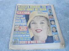 APRIL 22 1980 GLOBE vintage tabloid magazine MARILYN MONROE