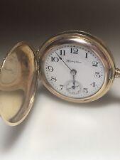 1910 Antique Hampden Gold Filled Pocketwatch Pocket Watch Serial No 2734276