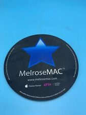 """MELROSE MAC HOLLYWOOD CA MOUSE PAD 8"""" ROUND"""