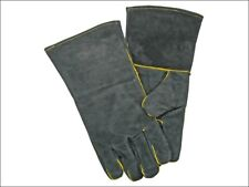 Inglenook Leather Fire Resistant Stove Log Wood Burner BBQ Gloves Gauntlet FGLOV