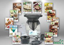 Vorwerk thermomix tm6 cookidoo y accesorios XXL varoma OVP 6 TM + libros de cocina