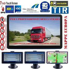 "MERCEDES NAVIGATORE GPS PER CAMION 7"" EUROPA/ITALIA Z.I. ADR INTERP. AUTOVEL"