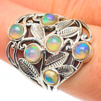 Ethiopian Opal 925 Sterling Silver Ring Size 8.25 Ana Co Jewelry R61296F