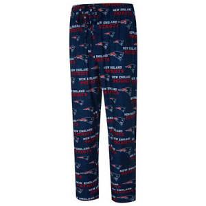 Men's New England Patriots Concepts Sport Royal Zest All Over Print Sleep Pants