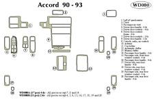 1990-1991-1992-1993 HONDA ACCORD DASH COVER BURGUNDY POLYCARPET