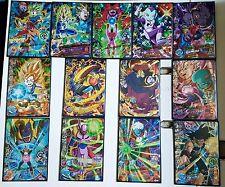 Carte Dragon Ball Z DBZ Dragon Ball Heroes God Mission Part 6 HGD6 #SR/R/N Set