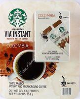 Starbucks VIA Ready Brew Colombia Medium Roast Instant Coffee Arabica 26 Packets