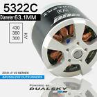 DUALSKY Motor ECO-C V2 Series Brushless Outrunners 5322C for 120E-140E RC Model
