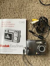 Kodak EasyShare C340 5.0MP Digital Camera - Silver