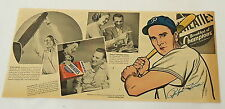 1947 Wheaties ad ~ Ralph Kiner Pittsburgh Pirates