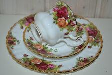 Royal Albert-Porzellan-Bone China-England-Old Country Roses-Speiseplatte//Schale.