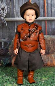Dirilis Costume for kids Ertugrul ottoman child boy halloween dance turkish