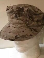 Lot USMC MARINES COVER GARRISON  HAT DESERT DIGITAL MARPAT SMALL NWOT
